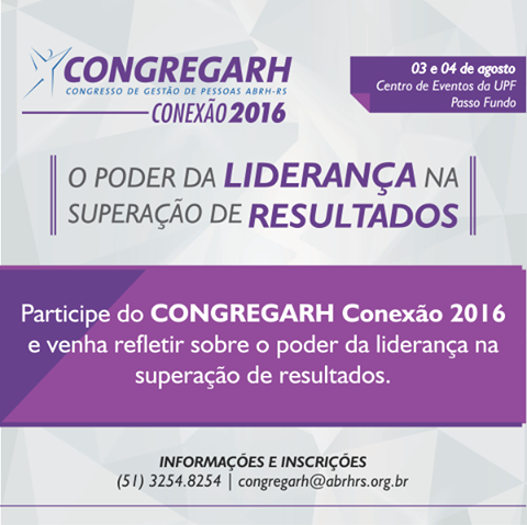 CONGREGARH Conexão 2016!